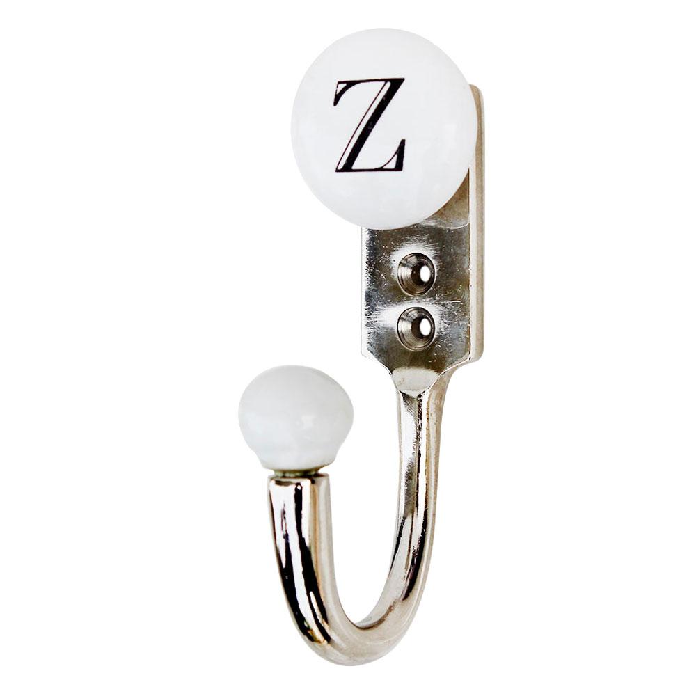 Z Flat Ceramic Hook