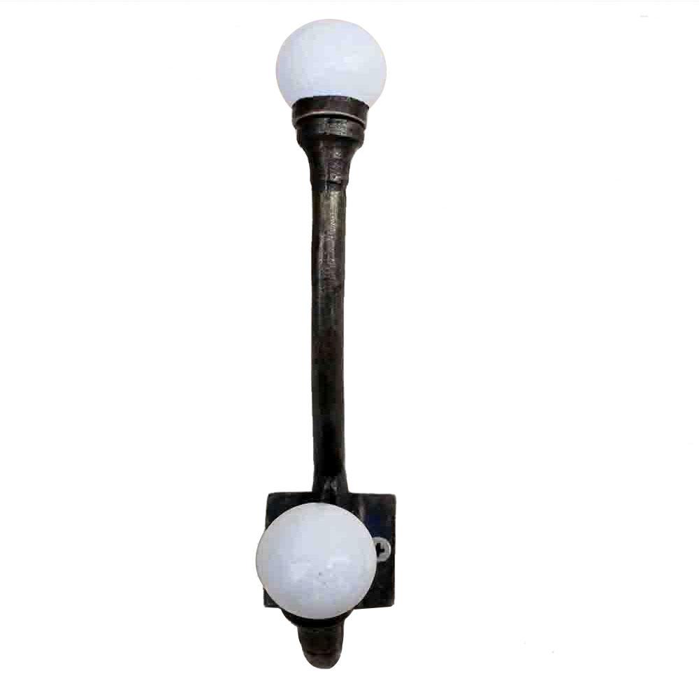 Solid White Iron Hooks-EHG-44