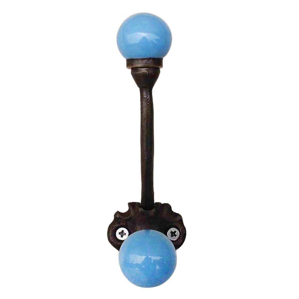 Solid Turquoise Iron Hooks-EHG-32