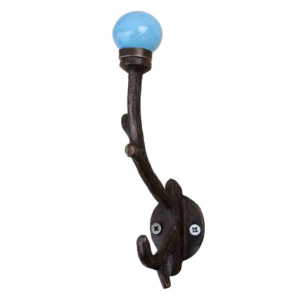 Solid Turquoise Tree Hooks-EHG-32