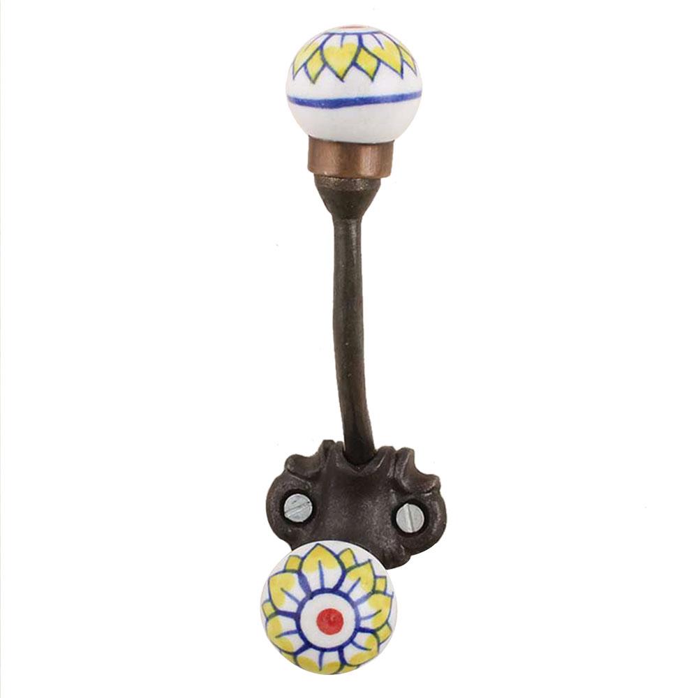 Sun Flower Iron Hooks-EHG-68