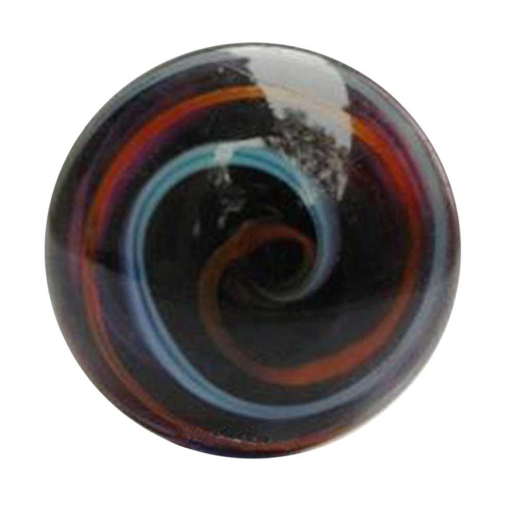 Mixed Striped Glass Knob