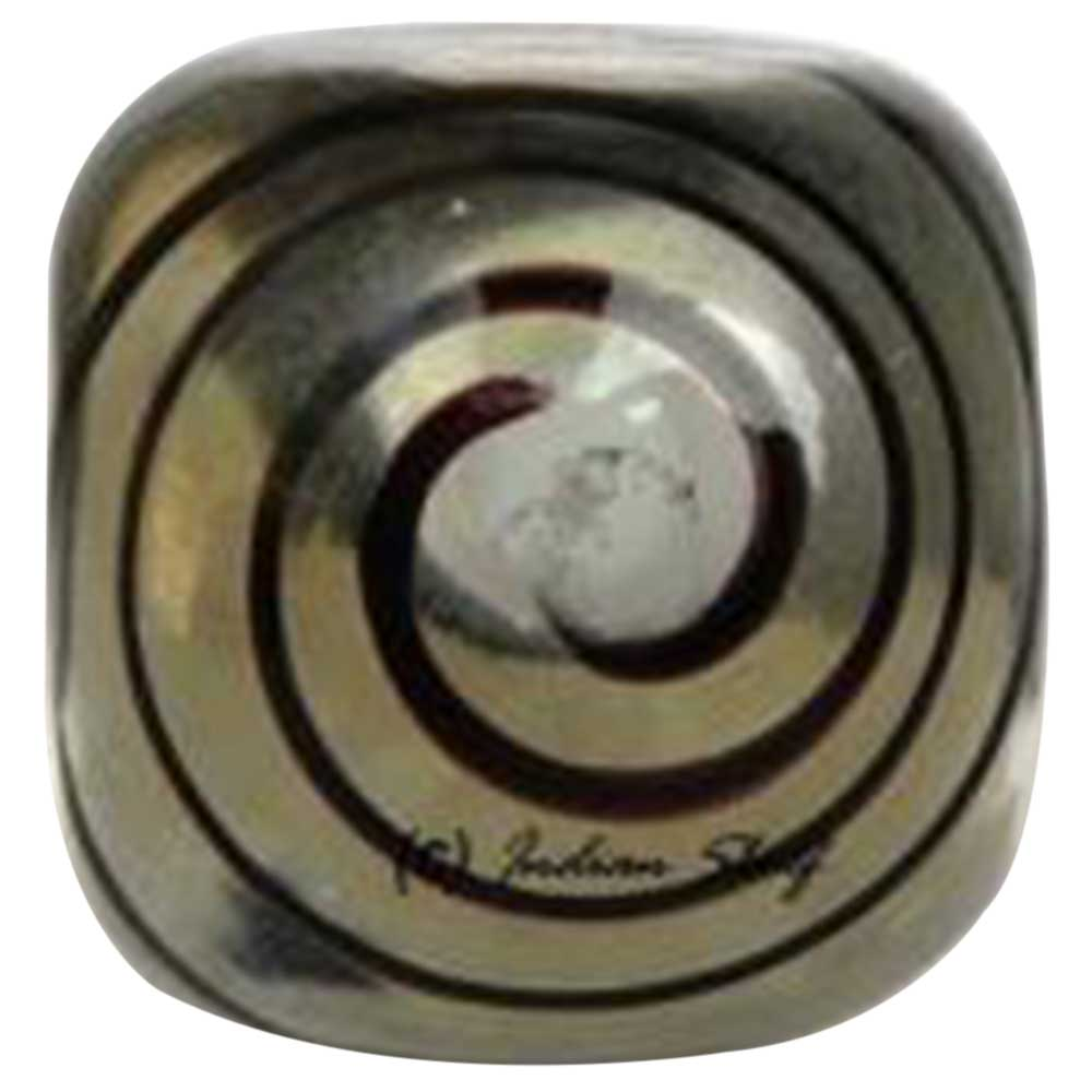 Black Striped Knob