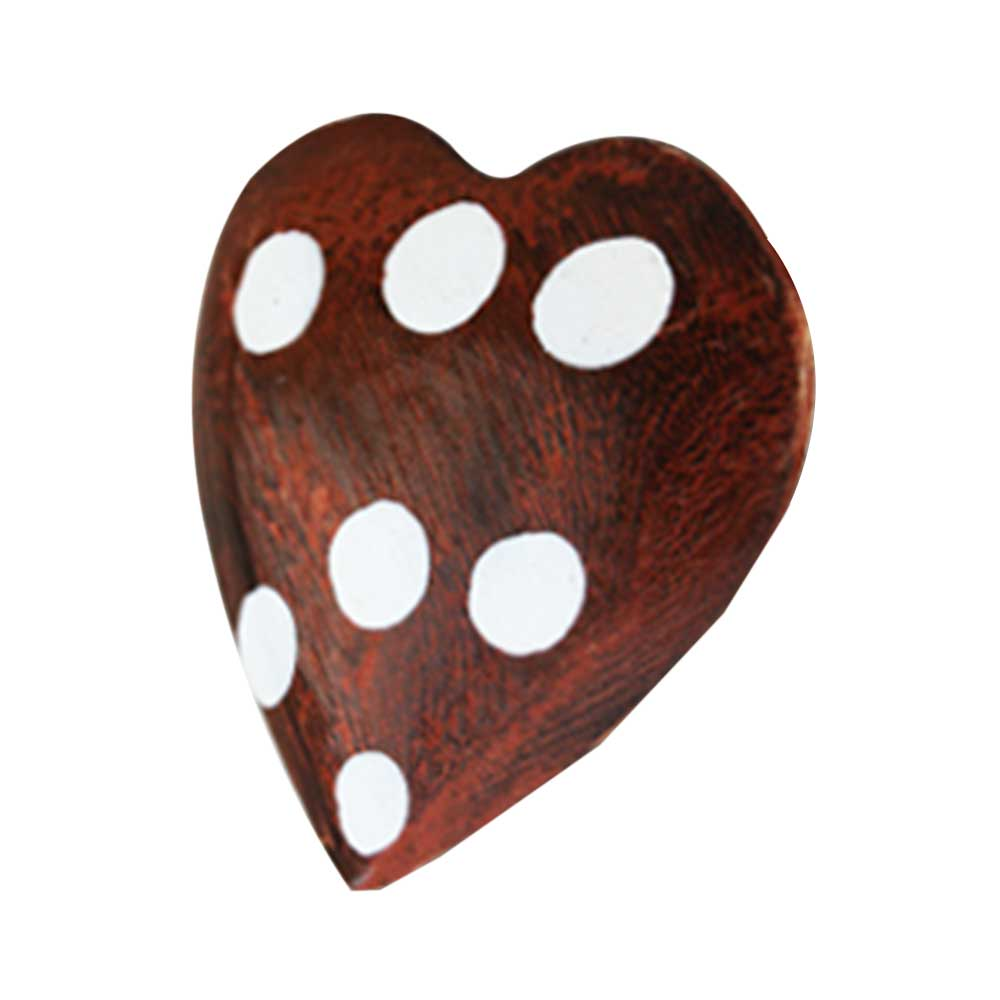 Orange Heart Drawer Knobs