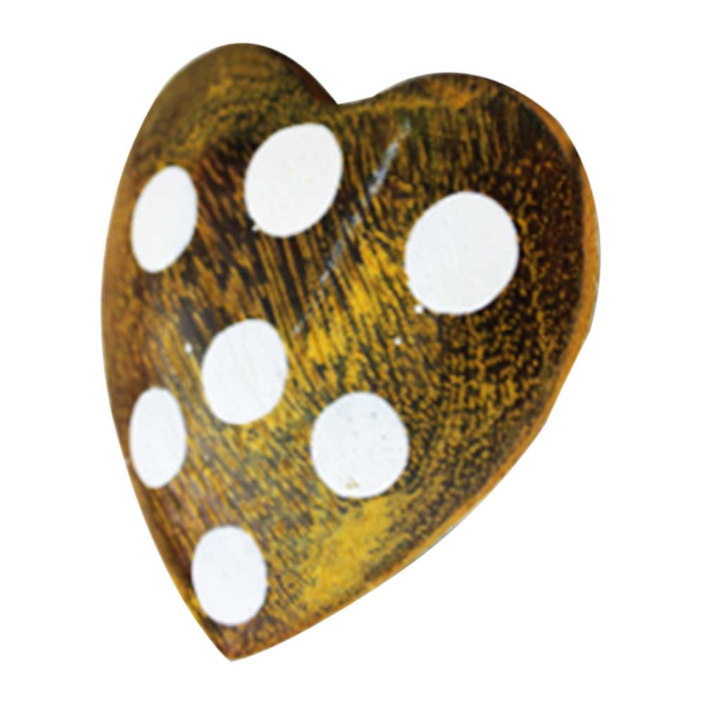 Golden Heart Drawer Knobs