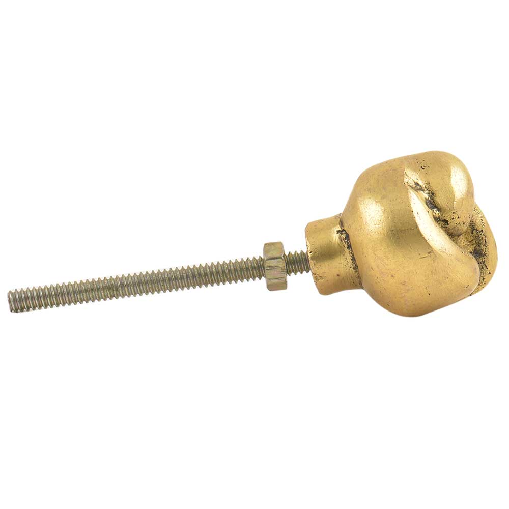 Brass Handmade Knot Drawer Knob