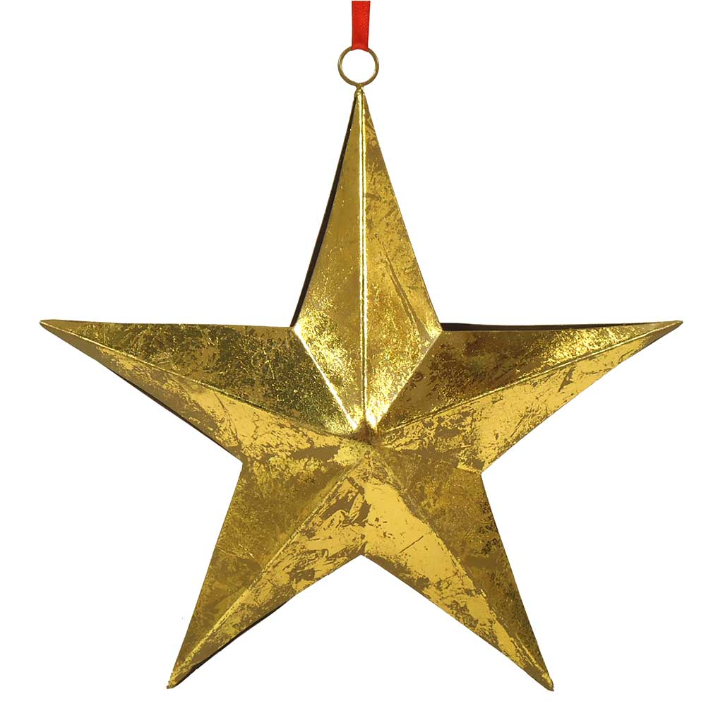 Iron Hanging Star 9.6 Inches