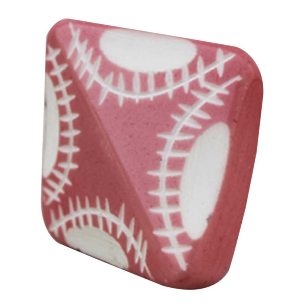 Pink Square Knob
