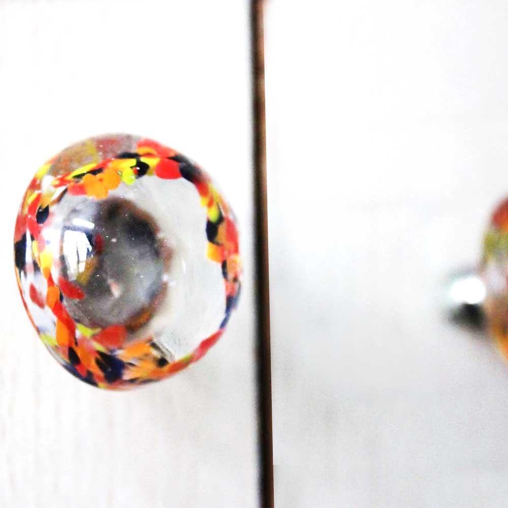 Mixed Glass Knob