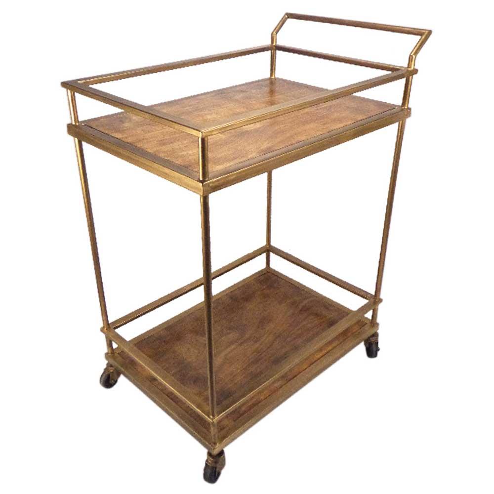 Metal/Wood Table