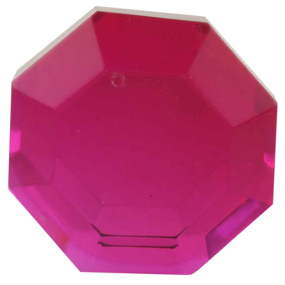 Queen Pink Flat Octagon Dresser Glass Wine Stopper Online