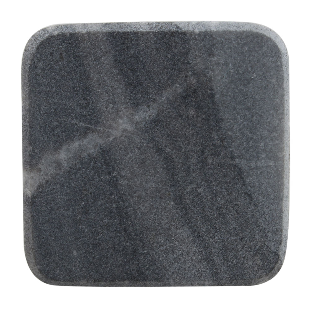 Grey Stone Square Cabinet Knobs Online