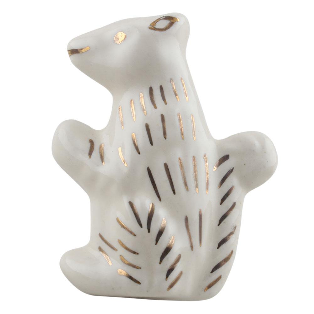 Ground Squirrel Shape Ceramic Dresser Knobs Online