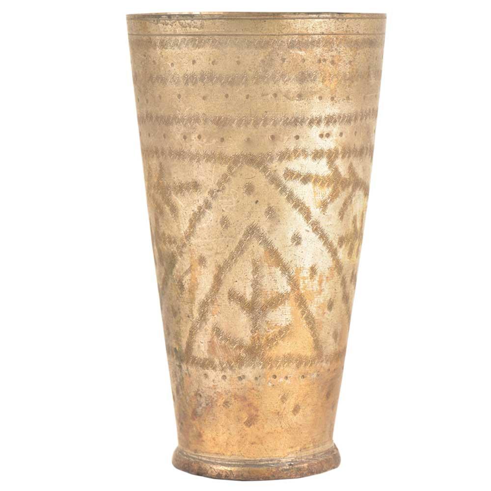 HandmadeBrass Punjabi Lassi Tumbler Glasses Lassi Water Drinkware Milk Cup