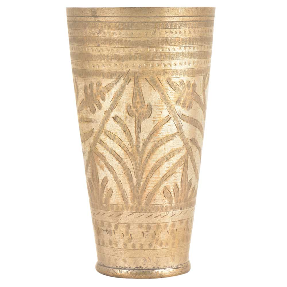 Brass Hand Made Lassi Glass Hand Crafted Kitchenware