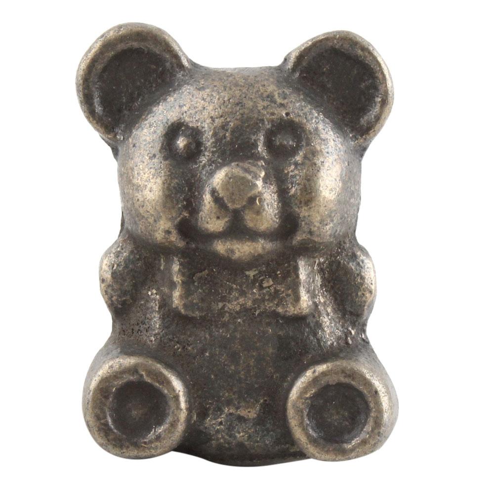 Antique Baby Panda Iron Dresser Knobs Online