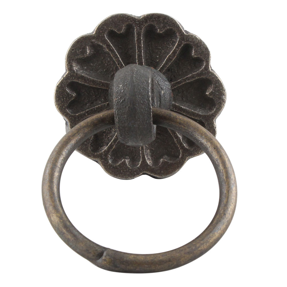 Antique Flower Iron Cabinet Knobs Online