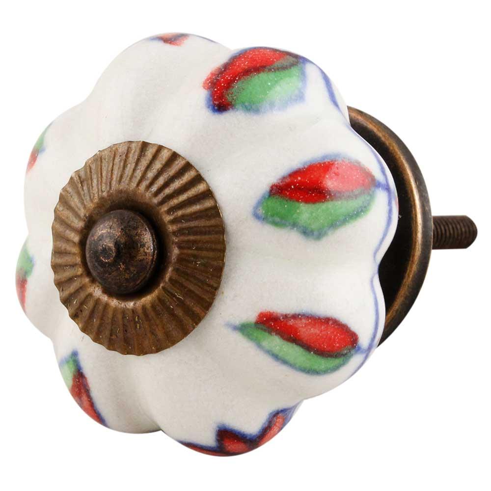 Plumeria Mystical Flower Knob