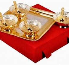 Brass Decorative Bowl Set