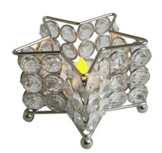 Star Shape Crystal Votive