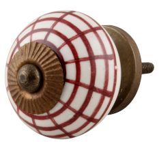 Spider Net Ceramic Knobs