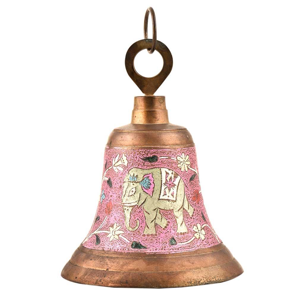 Heavy Brass Hanging Temple Door Home Decorative Ringing Bell