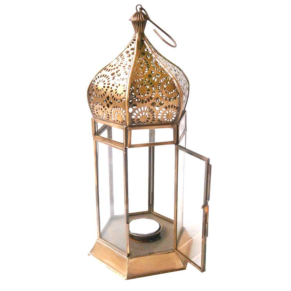 Arabian Nights Outdoor golden Lantern