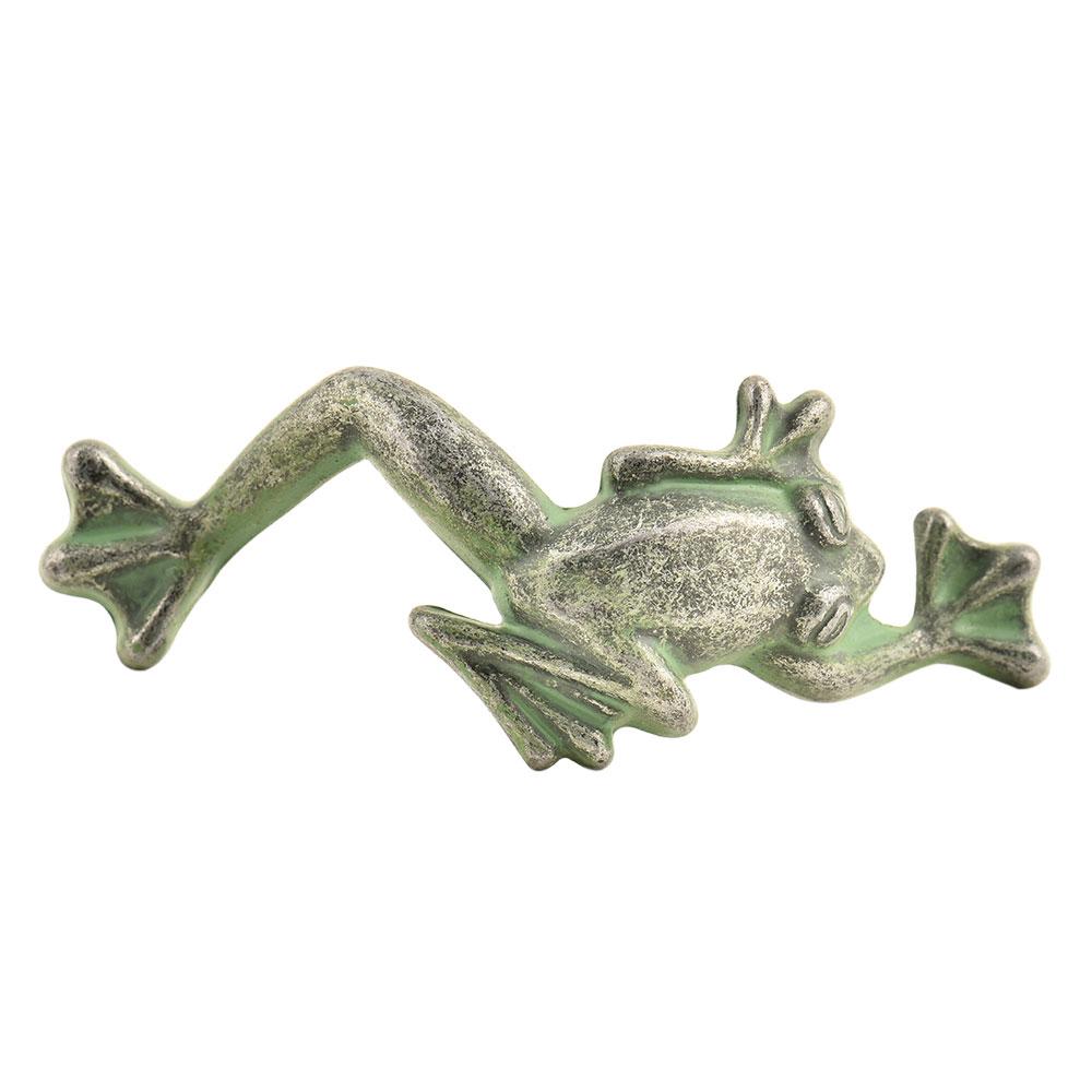 Cast Tree Frog Figurine Door Handle