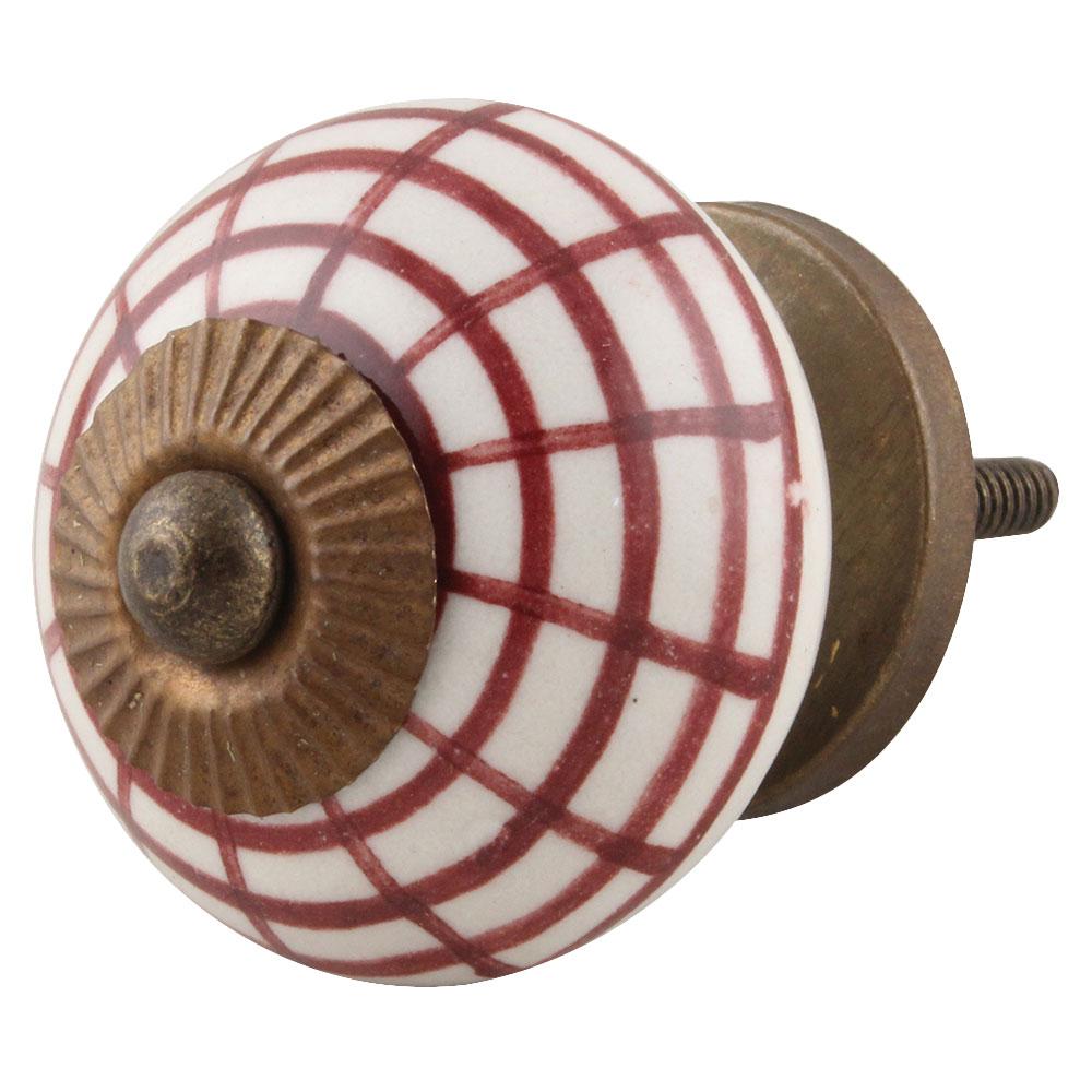 Spider Net Ceramic Knobs