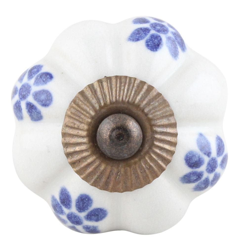 Blue Protea Melon Knob