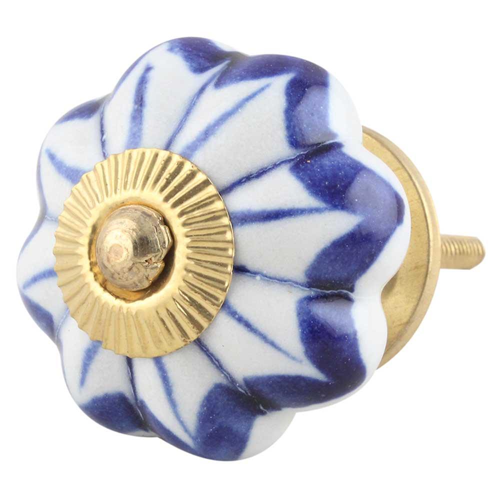 Periwinkle Blue Knob