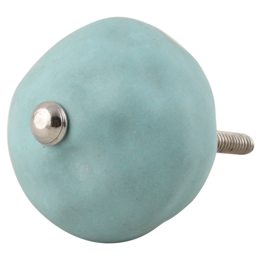 Sea Green Solid Knobs
