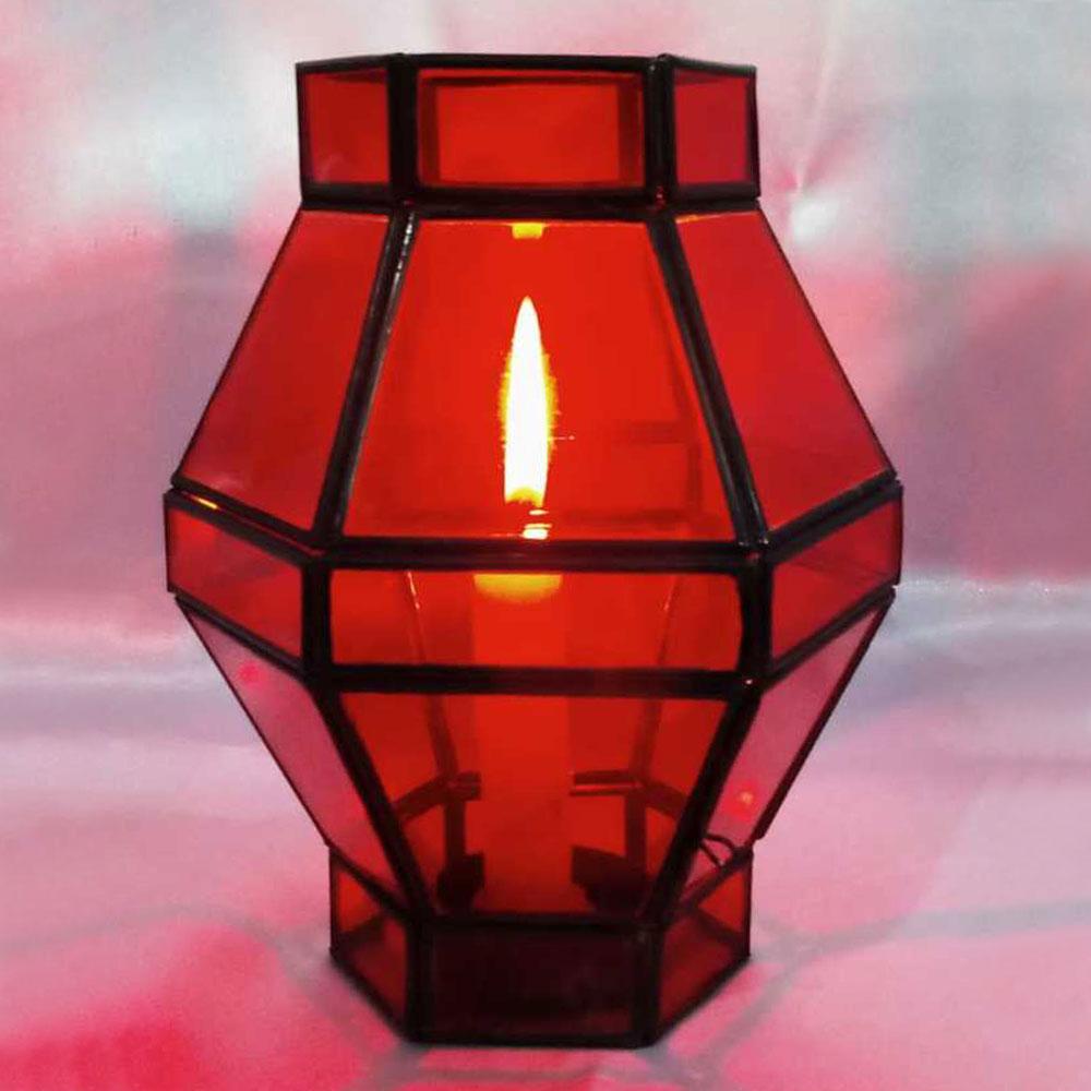 Brass & Glass Dewali Lantern