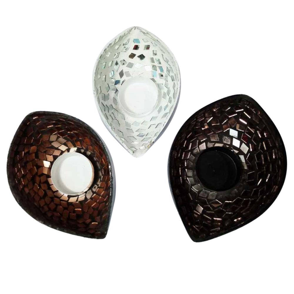 Iron Decorative T-Light Set
