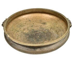 Handcrafted South Indian Solid Bronze Cooking Vessel Urli