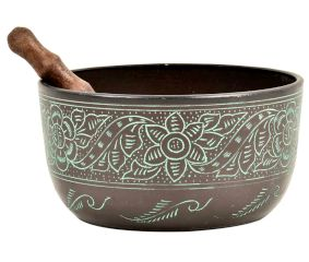 Tibetan Floral Singing Bowl Meditation