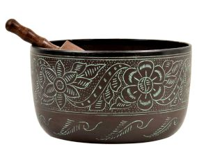 Natural Brass Therapeutic Singing Bowls