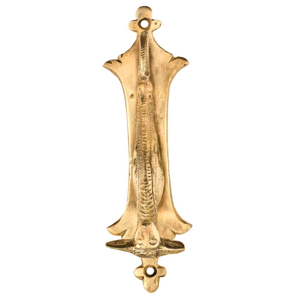 Single Brass Animal Head Wall Decoration Hook And Hanger