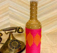 Designer Handcrafted Glass Bottle