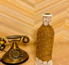 Designer Handcrafted Glass Bottle