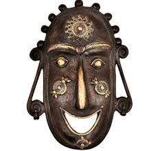 Beautiful Mask Human Figures Tribal Art Form