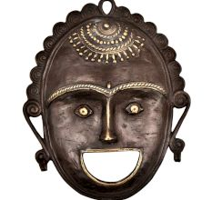 Tribal Face Mask With Expressions And smile