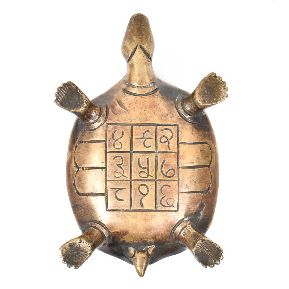 Brass Turtle Figurine Home Décor Gifting Statue