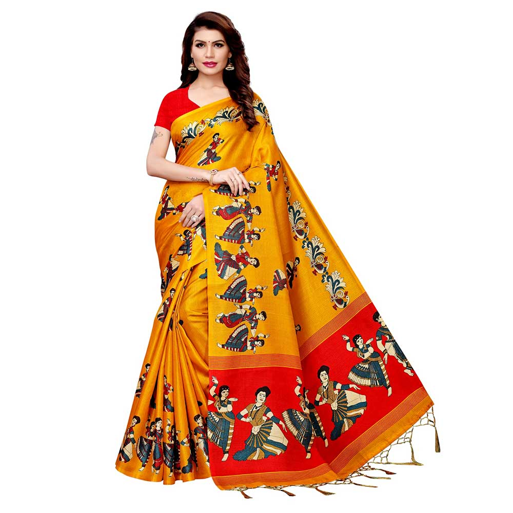 Yellow Kathak Women
