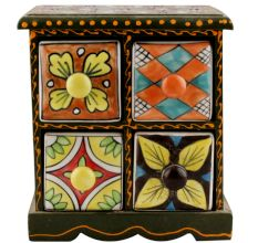 Spice Box-1251 Masala Rack Container Gift Item