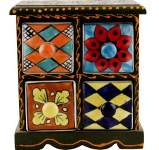 Spice Box-1257 Masala Rack Container Gift Item