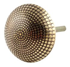Brass Dotted Cabinet Knobs Online