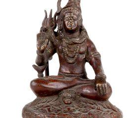 Lord Shiva Brass Statue Meditation Statue