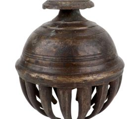 Solid Brass Elephant Bell From India