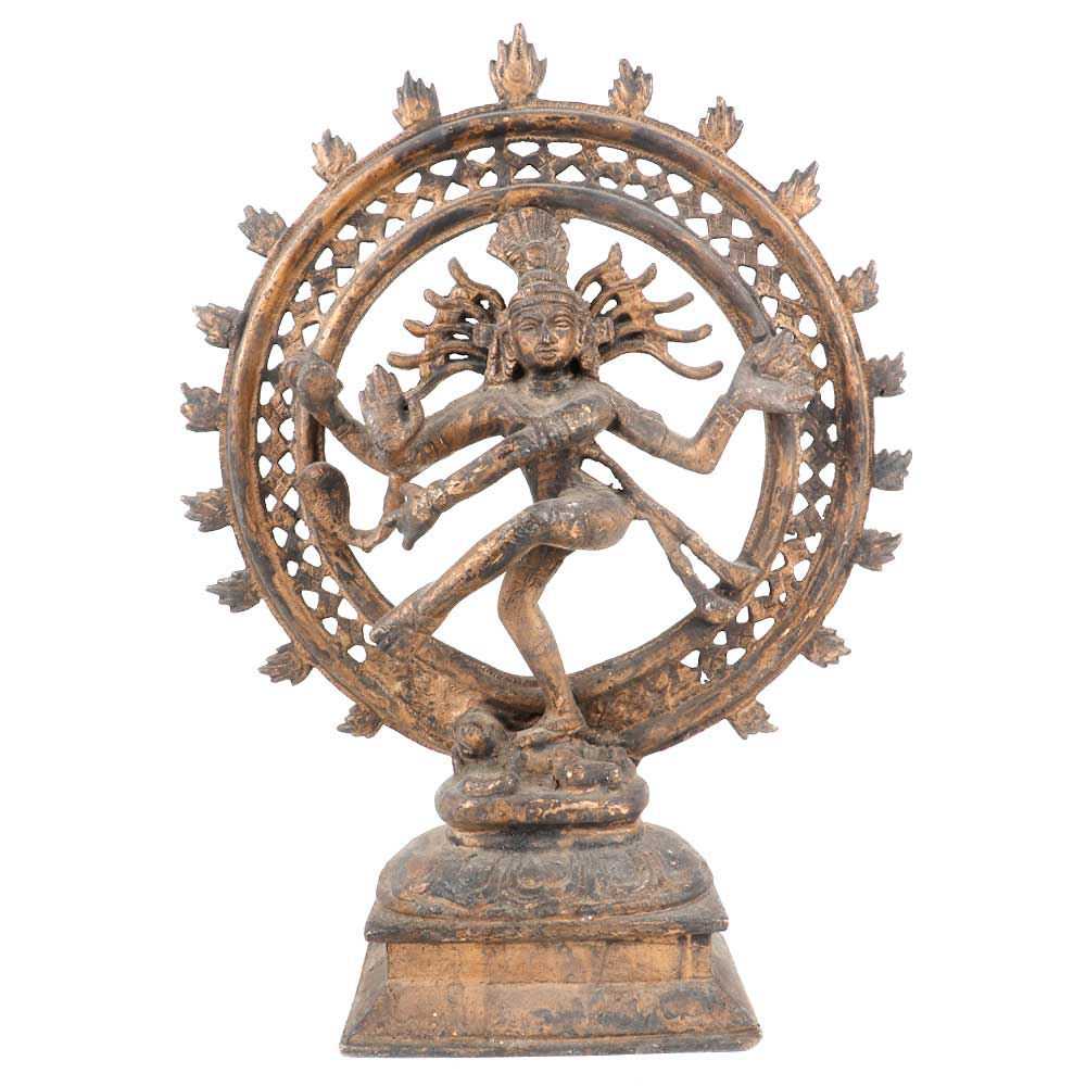 Brass Shiva Dancing Natraja Statue